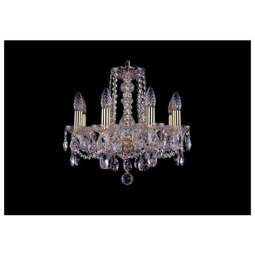 Люстра Bohemia Ivele Crystal 1402/8/141/G, E14, 320 Вт