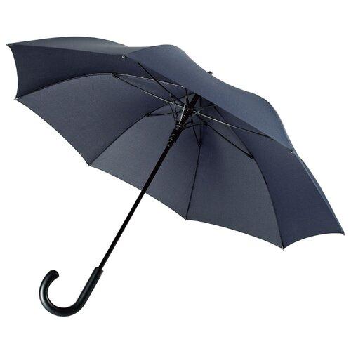 Зонт-трость Alessio, темно-синий беспроводные наушники matteo tantini etna 2 0 black