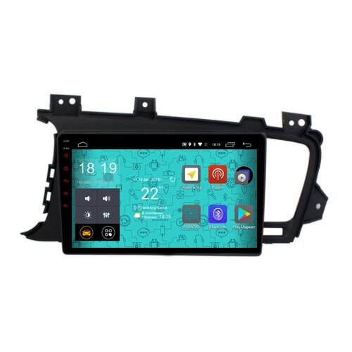 Купить Автомагнитола Parafar 4G/LTE IPS Kia Optima 3 2010-2013 Android 7.1.1 (PF480)