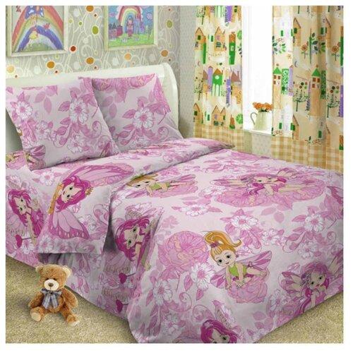Постельное белье 1.5-спальное Letto Софи 50х70 см, перкаль розовый цена 2017