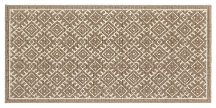 Купить Ковер Shahintex A La Russe icarpet 001М, размер: 0.8х0.5 м, мокко по низкой цене с доставкой из Яндекс.Маркета