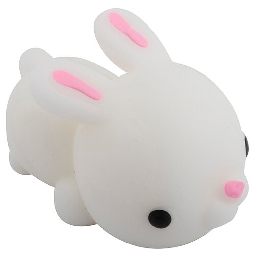 Игрушка-мялка Эврика Заяц 1 белый