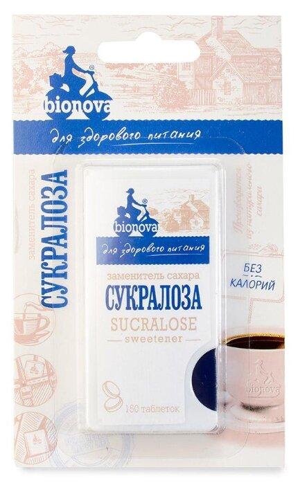 BIONOVA Заменитель сахара Сукралоза таблетки