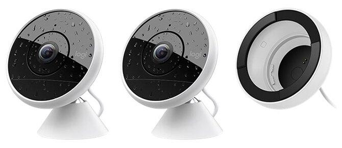 Комплект видеонаблюдения Logitech Circle 2 Wired Combo Pack 2 камеры
