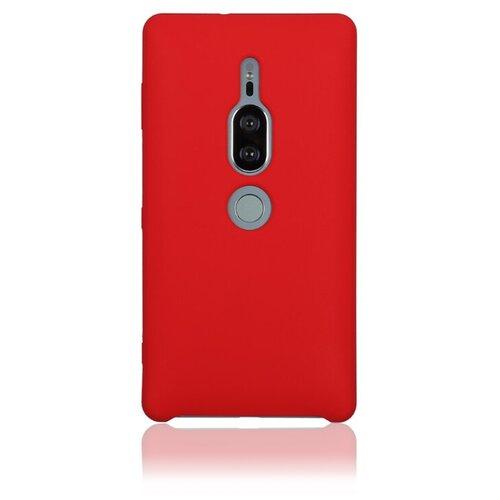 Чехол Rosco XZ2P-SOFTRUBBER для Sony Xperia XZ2 Premium красный