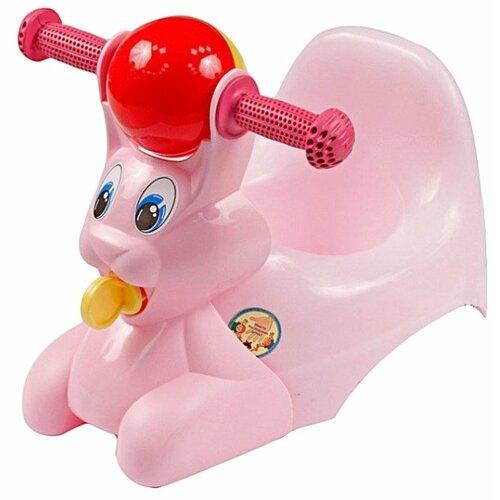 Little Angel горшок Зайчик (LA2710) розовый
