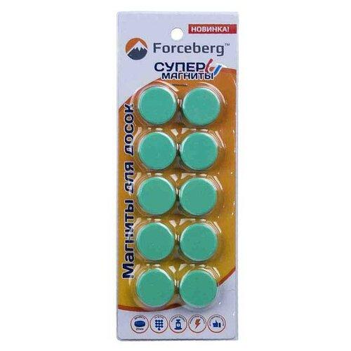 Магниты для доски Forceberg 9-3612-010 зеленый