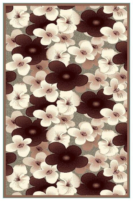 Люберецкие ковры Ковер с цветами кашемир 50131-24 1.5x3 м.