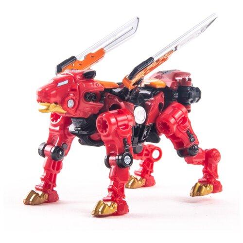 Купить Трансформер YOUNG TOYS Metalions Leo Mini красный/черный, Роботы и трансформеры