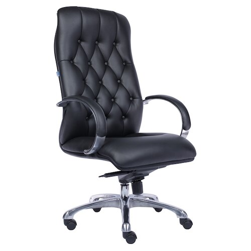 Фото - Компьютерное кресло Everprof Monaco для руководителя, обивка: искусственная кожа, цвет: черный компьютерное кресло everprof trend tm для руководителя обивка искусственная кожа цвет черный