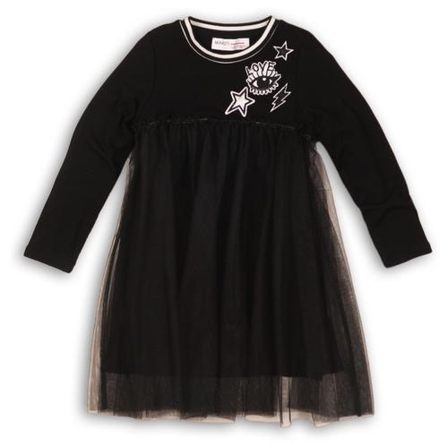 Платье Minoti размер 9-10 л, черный платье minoti размер 9 10 л черный