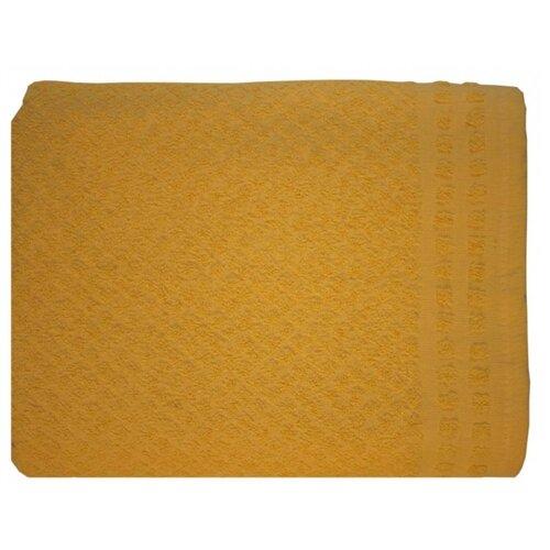 Belezza Полотенце жаккардовое 70х120 см желтый