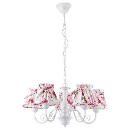 Люстра Arte Lamp A7021LM-5WH, E14, 200 Вт