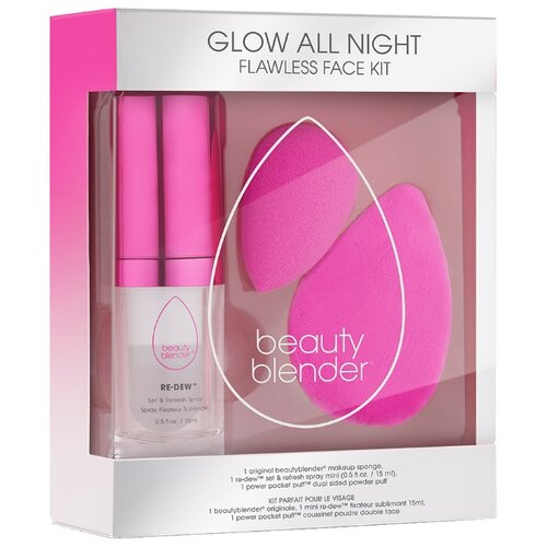 Beautyblender Набор для макияжа Glow all night