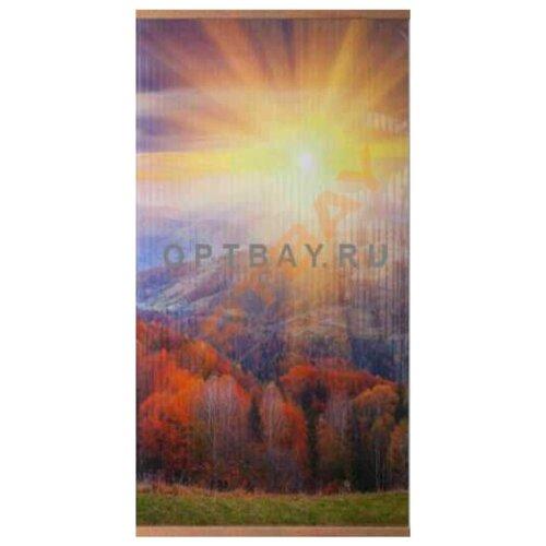 Инфракрасный настенный гибкий обогреватель Осенний лес (Домашний очаг)