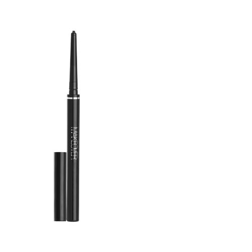 MAKEOVER Карандаш водостойкий для подводки глаз Long-lasting Soft Gel Pencil, оттенок black chi luxury black seed oil curl defining cream gel