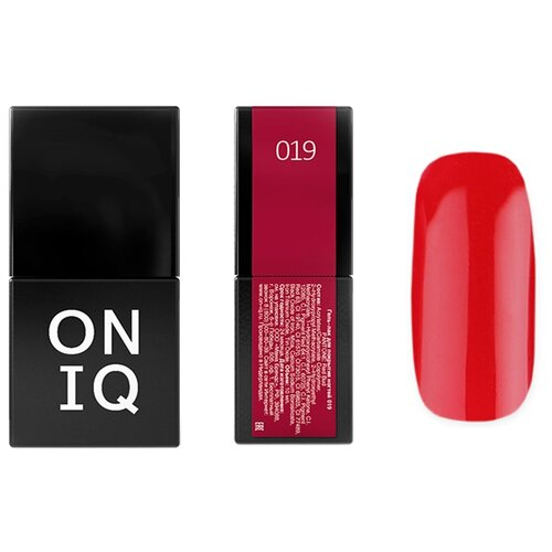 Купить Гель-лак для ногтей ONIQ Pantone, 10 мл, 019 Red Bud