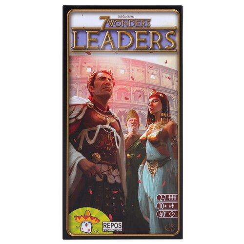 Купить Дополнение для настольной игры Asmodee 7 Wonders: Leaders, Настольные игры