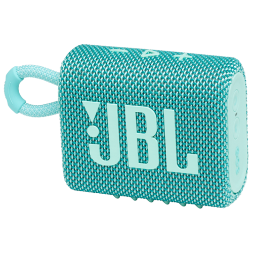 Портативная акустика JBL GO 3, teal портативная акустика jbl go 3 white