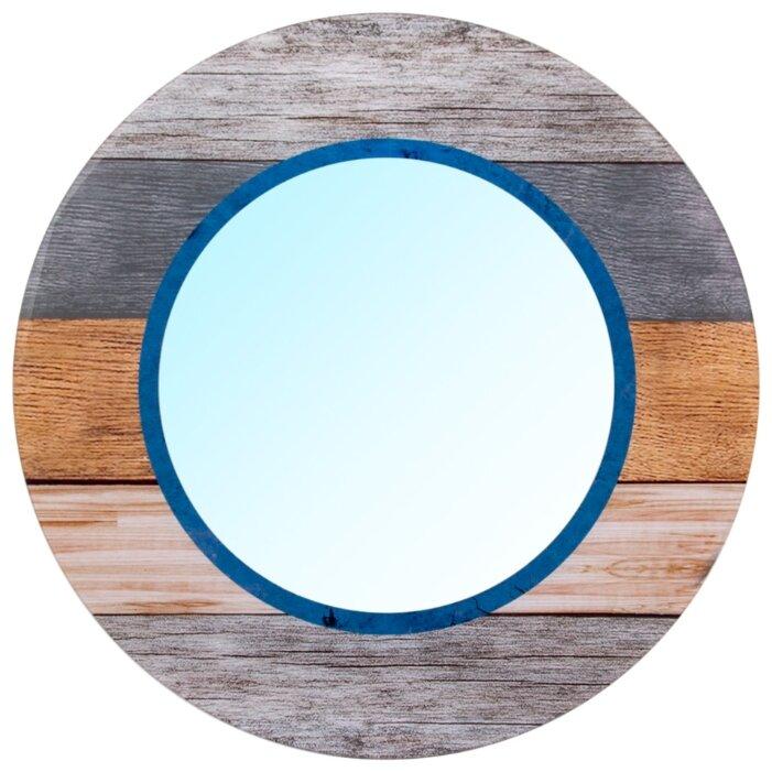 Зеркало интерьерное Русские Подарки, 78945, мультиколор, диаметр 60 см