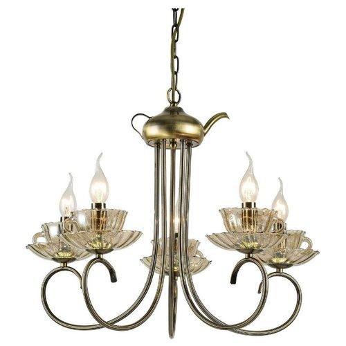 цена на Люстра Arte Lamp TET-A-TET A1750LM-5AB, E14, 300 Вт
