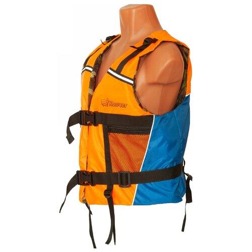 Спасательный жилет Ковчег Модель №1 (Тритон) оранжево-синий/камуфляж M/L 70 кг