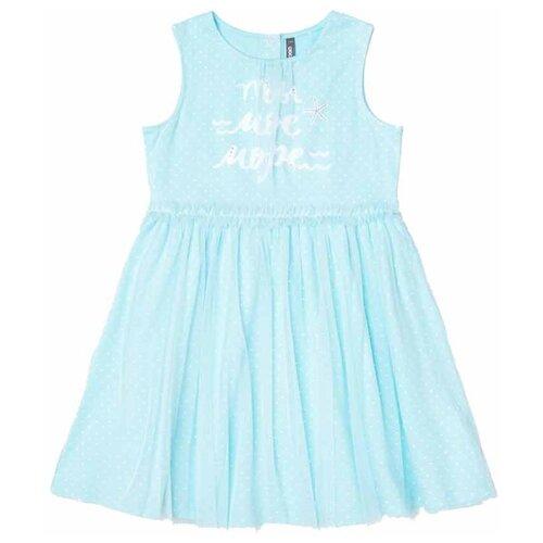 Купить Платье crockid Крапинка размер 92, аквамарин, Платья и юбки