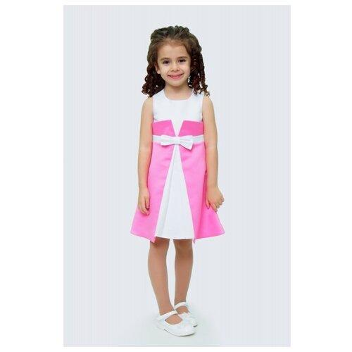 Купить Платье Ladetto размер 28-110, яркий малиновый, Платья и сарафаны