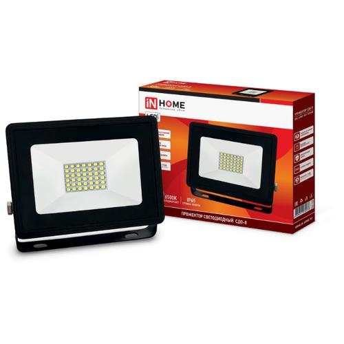 Прожектор светодиодный 30 Вт In Home СДО-8 (6500К 2850Лм IP65)