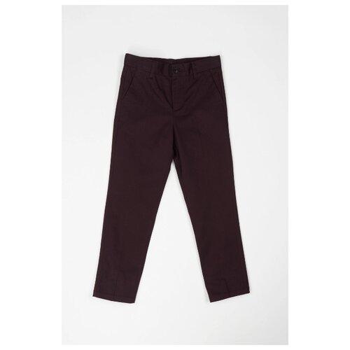 Брюки Sela размер 158, коричневый футболка sela sela se001emdqgz1