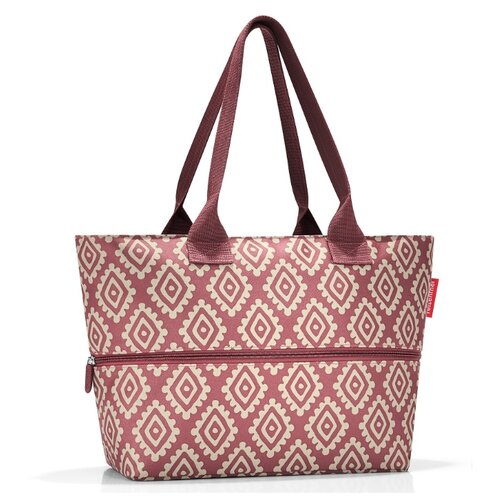 цена на Сумка reisenthel Shopper E1 RJ3065 diamonds rouge, текстиль