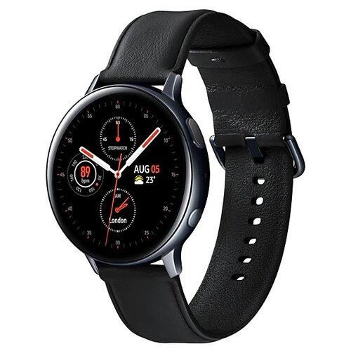 Умные часы Samsung Galaxy Watch Active2 сталь 44мм, черный умные часы samsung galaxy watch active2 cталь 40мм сталь