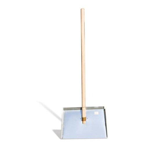 Лопата снегоуборочная, оцинкованная сталь, с черенком