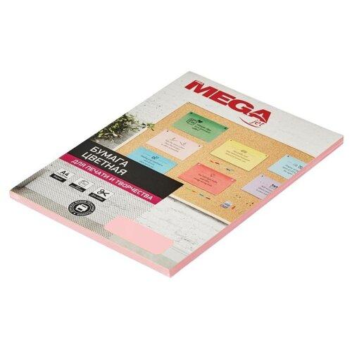 Фото - Бумага ProMEGA А4 Pastel 80г/м² 50 лист. розовый 1 шт. бумага iq color а4 color 120 г м2 250 лист оранжевый or43 1 шт