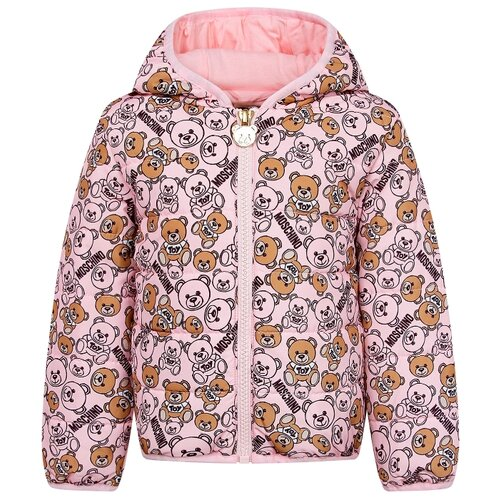 Куртка MOSCHINO размер 74-80, 80003 розовый moschino туфли