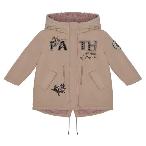 Купить Куртка Gulliver 22001GMC4503 размер 122, бежевый, Куртки и пуховики