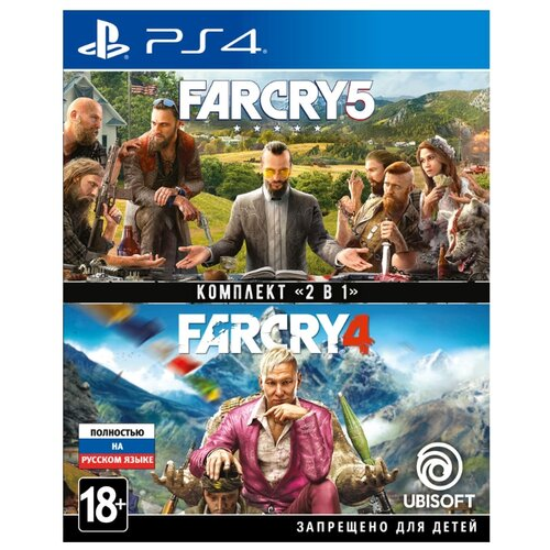 Игра для PlayStation 4 Far Cry 4 + Far Cry 5 far cry 5 [ps4]