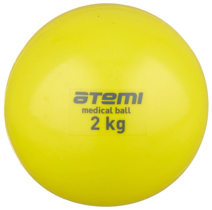 Медбол ATEMI ATB02, 2 кг — купить по выгодной цене на Яндекс.Маркете