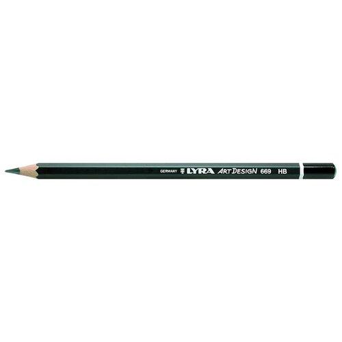Купить Lyra Карандаш чернографитный Art design HB (L1110100), Карандаши