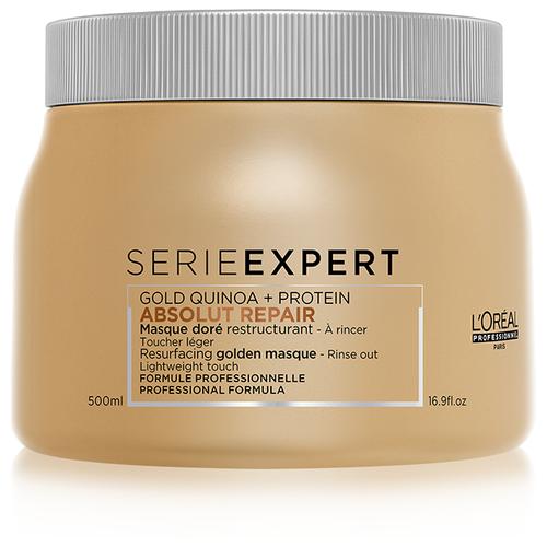 L'Oreal Professionnel Absolut Repair Маска с золотой текстурой для восстановления поврежденных волос, 500 мл l oreal professionnel маска absolut repair голд кремовая для поврежденных волос 250 мл