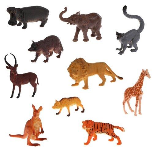 Купить Фигурки Наша игрушка Дикие животные 9618-46, Игровые наборы и фигурки