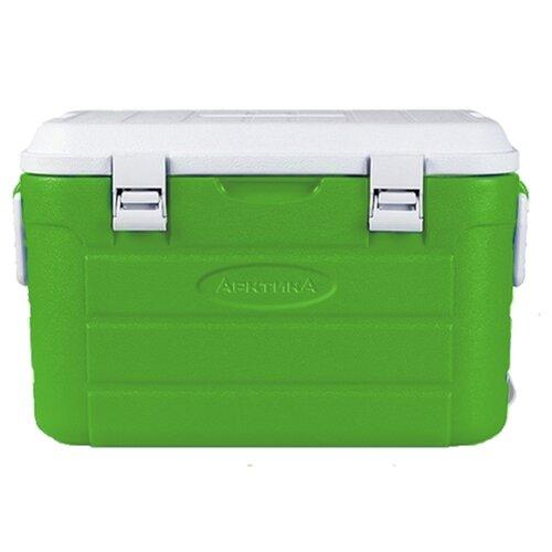 Арктика Изотермический контейнер с боковыми ручками и верхним клапаном зеленый 30 л