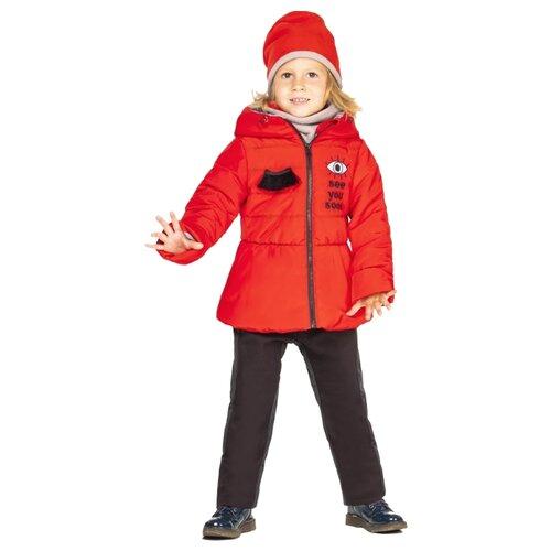 Комплект с брюками BOOM! by Orby 100003_BOG размер 104, красный/черный комплект с брюками boom 90566 bob размер 104 56 51 черный