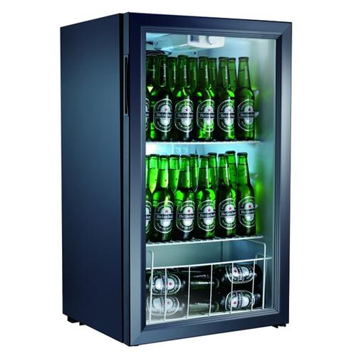 Холодильный шкаф Gastrorag BC98-MS черный