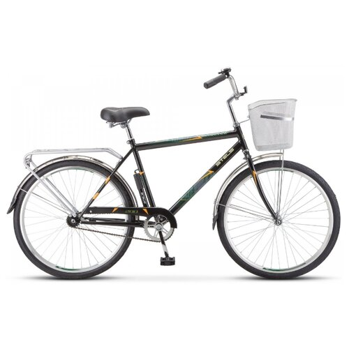 """Городской велосипед STELS Navigator 200 Gent 26 Z010 (2020) черный 19"""" (требует финальной сборки)"""