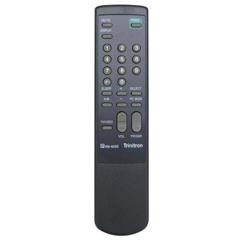 Пульт ДУ Huayu RM-849S для телевизоров Sony KV-2185MK/KV-1485/KV-1487MT/KV-14DK2/KV-14MD1/KV-2167MT черный пульт ду huayu rm 687c для телевизора sony kv m2551 черный