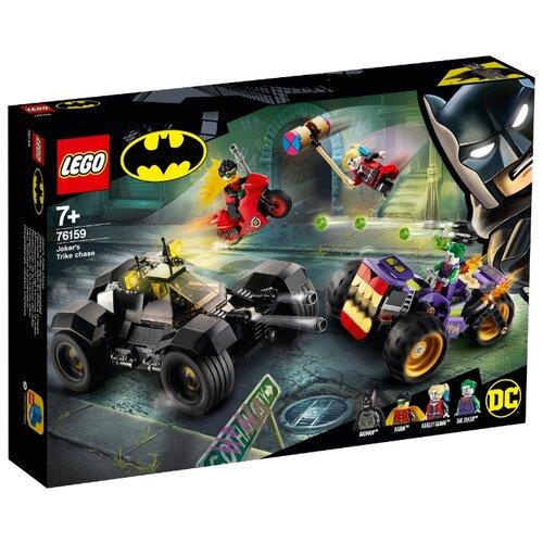 Конструктор LEGO DC Comics Super Heroes 76159 Побег Джокера на трицикле конструктор lego dc super hero girls харли квинн спешит на помощь 41231