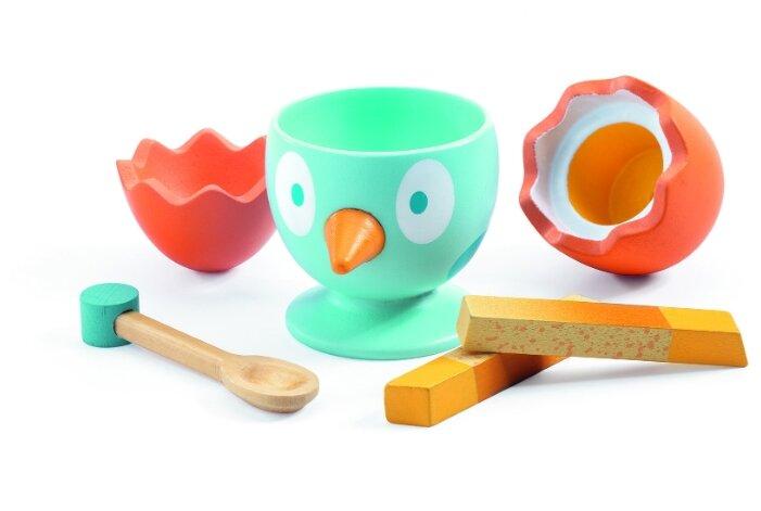 Набор продуктов с посудой DJECO Время завтрака 06542/19