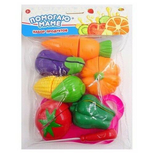 Купить Набор продуктов с посудой ABtoys Помогаю маме PT-01275 разноцветный, Игрушечная еда и посуда