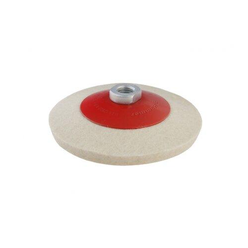 Полировальный круг Hammer 227-024 125 мм 1 шт пластина режущая по грунту hammer flex 210 024 200 мм к шнеку 210 029 hg нерж сталь
